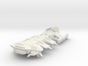 Klingon Troup Transport in White Strong & Flexible