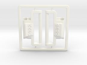 Model 1622 G-Shock NATO/ZULU adapter in White Processed Versatile Plastic