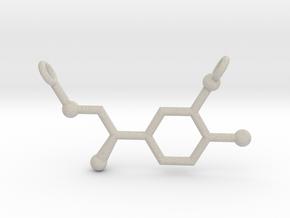 Adrenaline (Epinephrine) Pendant Alternative in Natural Sandstone