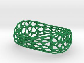 Bracelet Stl in Green Processed Versatile Plastic