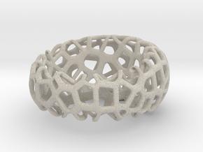 Ring #Voronoi in Natural Sandstone: Medium