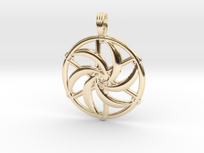SILVERMOON SPIRAL in 14K Yellow Gold