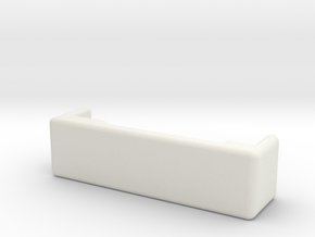 Dojang in White Natural Versatile Plastic