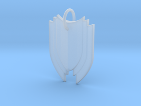 Shield in Smooth Fine Detail Plastic