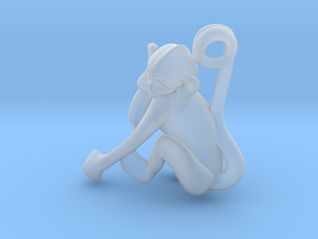 3D-Monkeys 246 in Smooth Fine Detail Plastic
