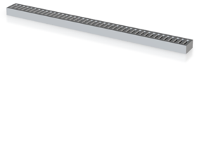 N Scale Drains 5x25mm in Smooth Fine Detail Plastic