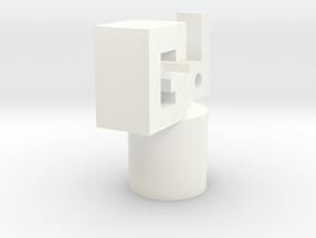 'Good' Dust plug in White Processed Versatile Plastic