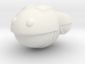 Have A Nice Day - Smiley Face - Low Poly - Standle in White Strong & Flexible