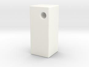 1:12 Arco Base in White Processed Versatile Plastic