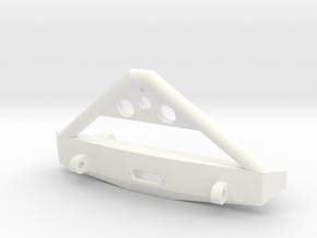 Deadbolt Bumper in White Processed Versatile Plastic