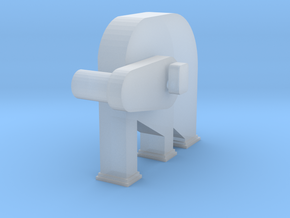 'N Scale' - Bucket Elevator-Head in Smooth Fine Detail Plastic
