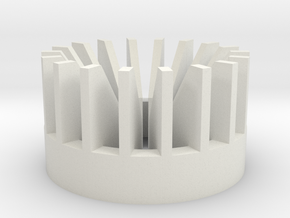 Radiator V4 in White Natural Versatile Plastic