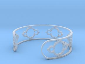 Mandelbrot Light Bracelet 7in (18cm) in Smooth Fine Detail Plastic