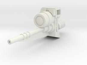 Ratchetrooper Weapon 06 - Sniper Laser in White Natural Versatile Plastic