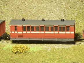 N.W.N.G.R. 1st/3rd Composite (009) in Smooth Fine Detail Plastic