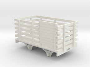 On16.5 W&L style sheep wagon in White Natural Versatile Plastic