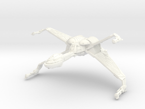 Hunter Class Bird Of Prey in White Strong & Flexible Polished