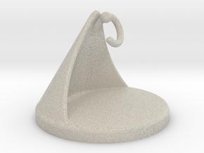 Hanging cup holder in Natural Sandstone