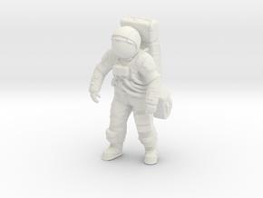 1:12 Apollo Astronaut in White Natural Versatile Plastic