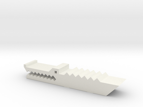 鱷魚夾紙器 Crocodile paper holder in White Strong & Flexible