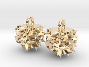 Asteroid Earring in 14k Gold Plated