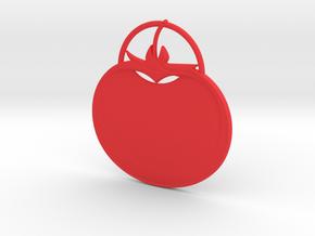 Tomato Pendant in Red Processed Versatile Plastic