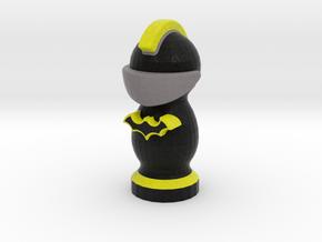 Catan Robber Knight Blk Ylw Bat in Full Color Sandstone