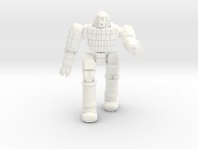 Ares IV Battlesuit  (Pose 1) in White Processed Versatile Plastic