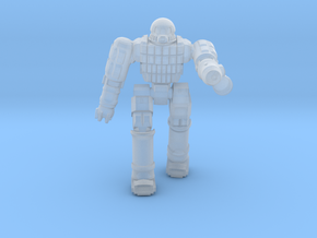 Ares IV Battlesuit  (Pose 1) in Smooth Fine Detail Plastic