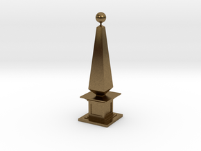 160105_Obelisk_01 in Raw Bronze