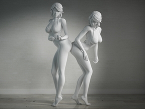 Nice Bottom Girls-001 scale 1/10 Passed in White Strong & Flexible Polished