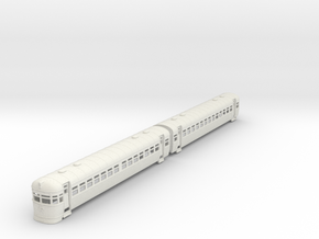 Silver Bullet Queensland Railcar-no Window Bars in White Natural Versatile Plastic