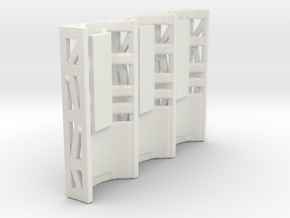 Zero Gravity Cage in White Natural Versatile Plastic