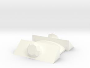 Gem Chopsticks in White Processed Versatile Plastic