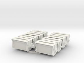 Ballast Gate Miner Type Short [8] - O Scale in White Natural Versatile Plastic