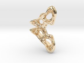 Butterfly02 in 14K Yellow Gold