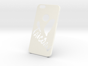 Taiwan Phone Case in White Processed Versatile Plastic