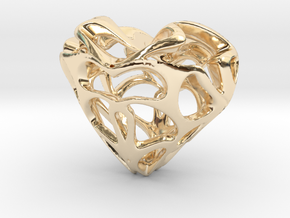 Loveheart in 14K Gold