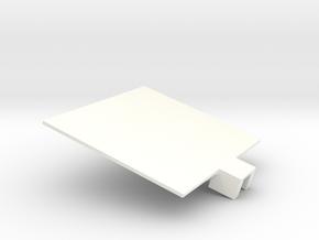 Han in White Processed Versatile Plastic
