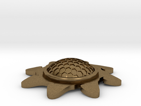 Stackable Shield Token for X-Wing (Starburst) in Natural Bronze