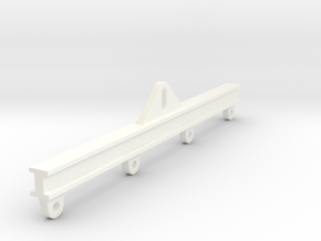1/50 Load Spreader Bar (Rectangular) in White Processed Versatile Plastic
