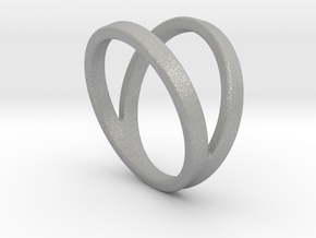 Split Ring Size US 9.5 in Aluminum
