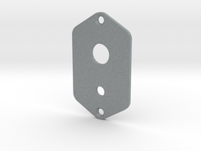 Jaguar Plate - 3 Way Switch + Mini Toggle in Polished Metallic Plastic