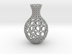 Gradient Ring Vase in Aluminum