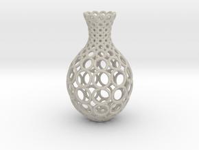 Gradient Ring Vase in Natural Sandstone