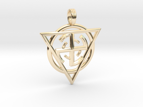 MAGNETRON in 14K Yellow Gold