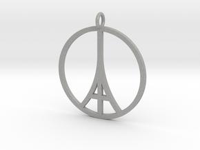 Paris Peace Pendant in Aluminum