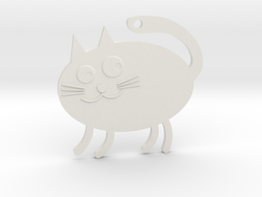 Awesome Supercat V1 in White Natural Versatile Plastic