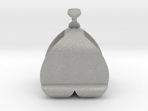 I♥U Shape 2 - View 2 in Aluminum