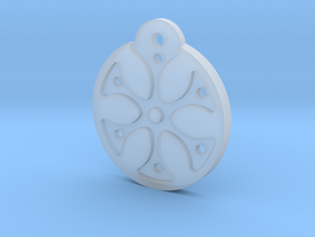 Flower Necklace - Part 1 - Plastic in Smooth Fine Detail Plastic